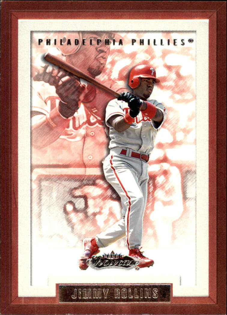 2002 Fleer Showcase #53 Jimmy Rollins