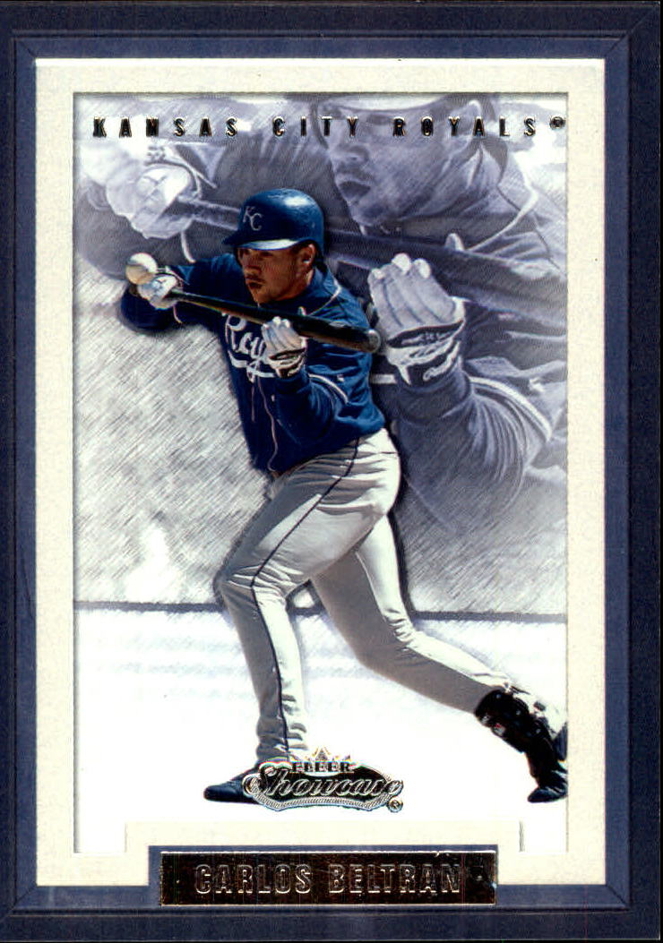 2002 Fleer Showcase #59 Carlos Beltran