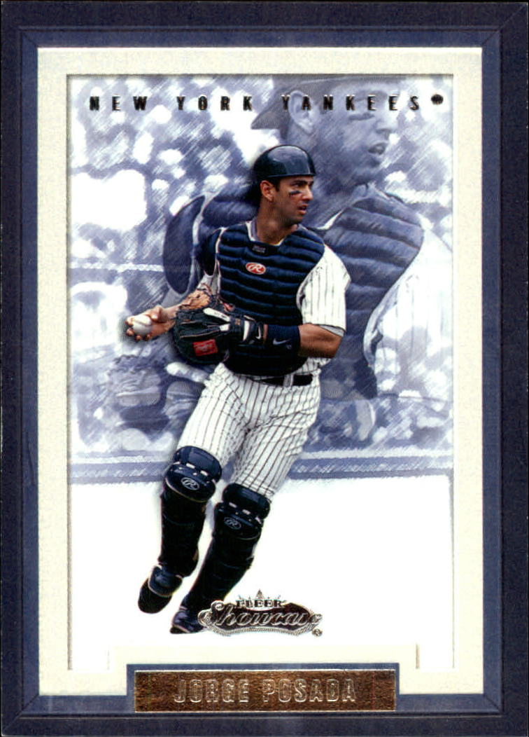 2002 Fleer Showcase #69 Jorge Posada