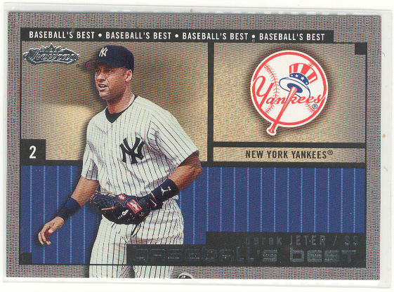 2002 Fleer Showcase Baseball's Best #1 Derek Jeter