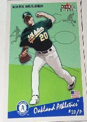 2002 Fleer Tradition #6 Mark Mulder SP