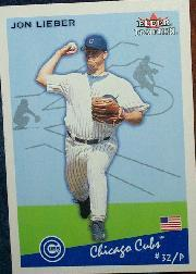 2002 Fleer Tradition #7 Jon Lieber SP