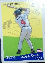 2002 Fleer Tradition #19 Julio Franco SP