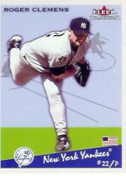 2002 Fleer Tradition #68 Roger Clemens SP