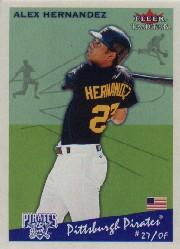 2002 Fleer Tradition #101 Alex Hernandez