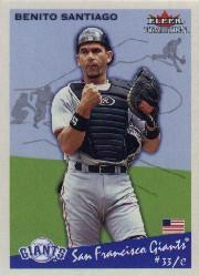 2002 Fleer Tradition #103 Benito Santiago