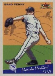 2002 Fleer Tradition #105 Brad Penny