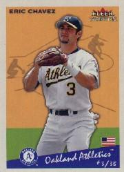 2002 Fleer Tradition #111 Eric Chavez