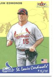 2002 Fleer Tradition #115 Jim Edmonds