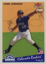 2002 Fleer Tradition #117 Jose Jimenez