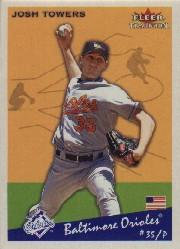 2002 Fleer Tradition #118 Josh Towers