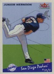 2002 Fleer Tradition #119 Junior Herndon