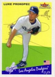 2002 Fleer Tradition #120 Luke Prokopec
