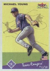 2002 Fleer Tradition #125 Michael Young