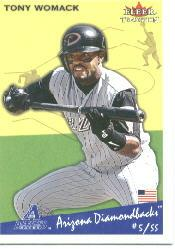 2002 Fleer Tradition #129 Tony Womack