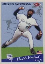 2002 Fleer Tradition #132 Antonio Alfonseca