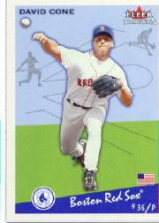 2002 Fleer Tradition #139 David Cone