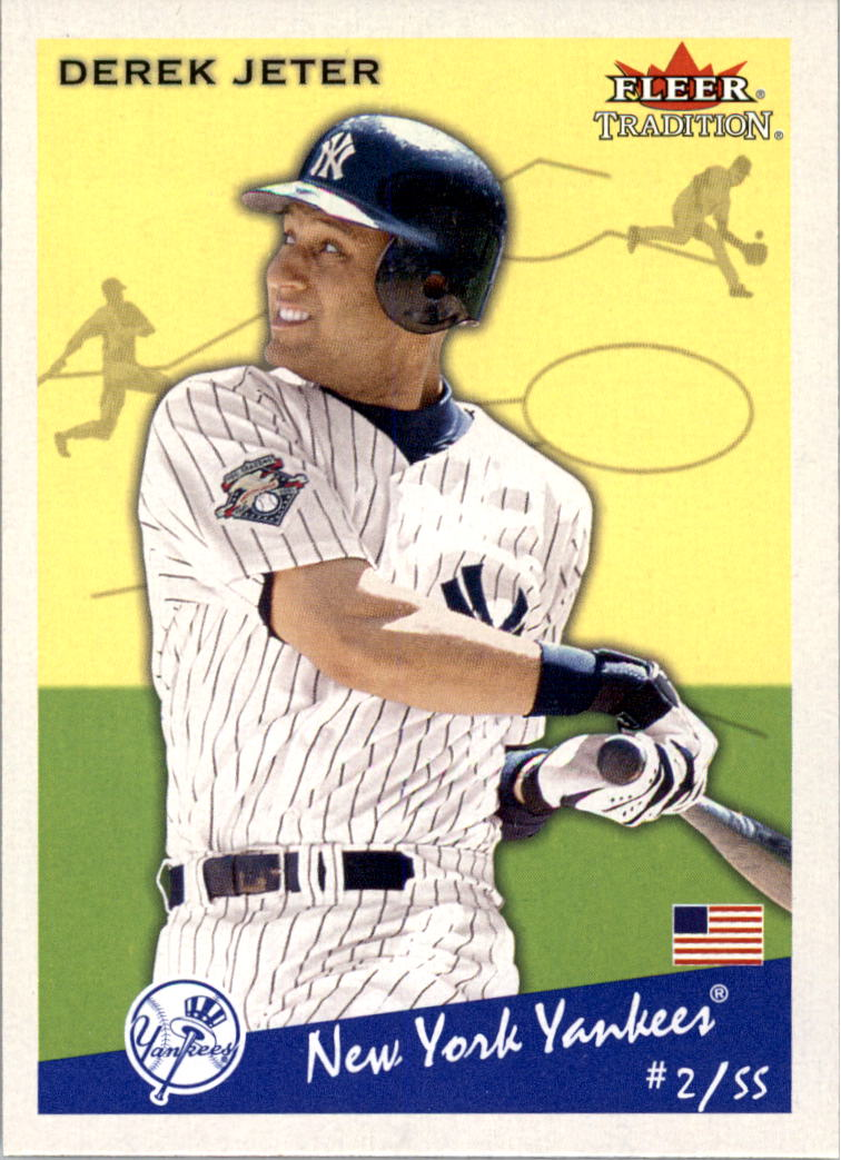 2002 Fleer Tradition #142 Derek Jeter
