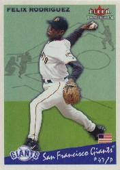 2002 Fleer Tradition #144 Felix Rodriguez