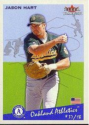 2002 Fleer Tradition #145 Jason Hart