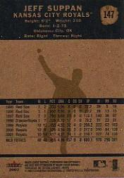 2002 Fleer Tradition #147 Jeff Suppan back image