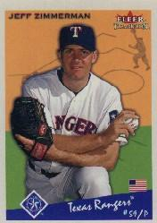2002 Fleer Tradition #148 Jeff Zimmerman