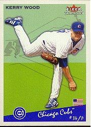 2002 Fleer Tradition #149 Kerry Wood
