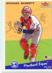 2002 Fleer Tradition #152 Michael Barrett