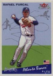 2002 Fleer Tradition #154 Rafael Furcal