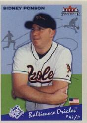 2002 Fleer Tradition #155 Sidney Ponson