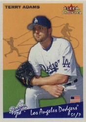 2002 Fleer Tradition #156 Terry Adams