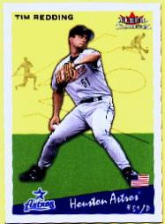 2002 Fleer Tradition #157 Tim Redding