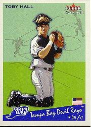 2002 Fleer Tradition #158 Toby Hall