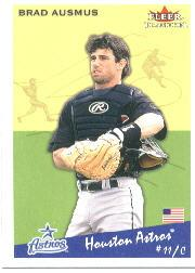 2002 Fleer Tradition #161 Brad Ausmus