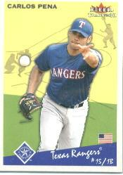 2002 Fleer Tradition #162 Carlos Pena