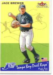 2002 Fleer Tradition #163 Jace Brewer