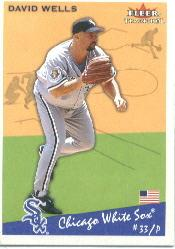 2002 Fleer Tradition #164 David Wells