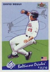 2002 Fleer Tradition #165 David Segui
