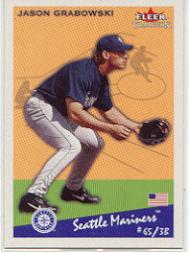 2002 Fleer Tradition #168 Jason Grabowski