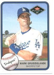 2002 Fleer Tradition #176 Mark Grudzielanek