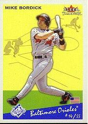 2002 Fleer Tradition #178 Mike Bordick