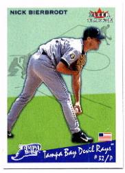2002 Fleer Tradition #180 Nick Bierbrodt