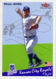 2002 Fleer Tradition #181 Paul Byrd