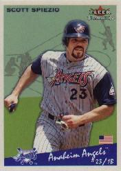 2002 Fleer Tradition #185 Scott Spiezio