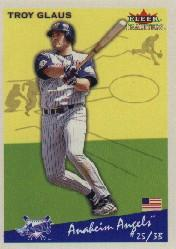2002 Fleer Tradition #189 Troy Glaus
