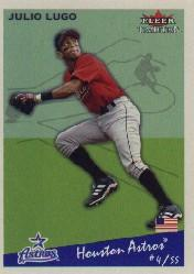 2002 Fleer Tradition #202 Julio Lugo