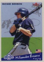 2002 Fleer Tradition #204 Richie Sexson