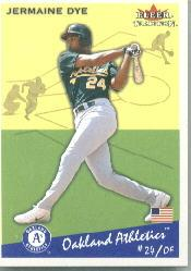 2002 Fleer Tradition #212 Jermaine Dye