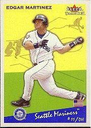 2002 Fleer Tradition #255 Edgar Martinez