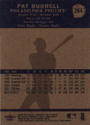 2002 Fleer Tradition #264 Pat Burrell back image